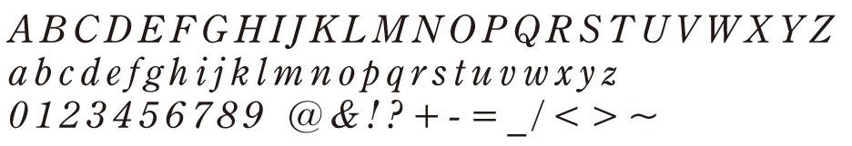 CenturyOldst Italic